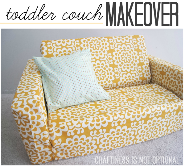 toddler couch makeover  craftiness is not optional