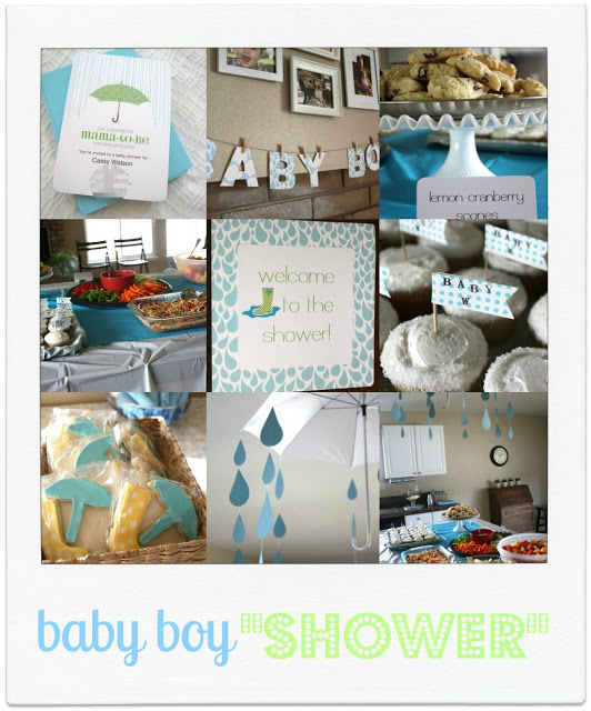 "baby boy ""SHOWER"""