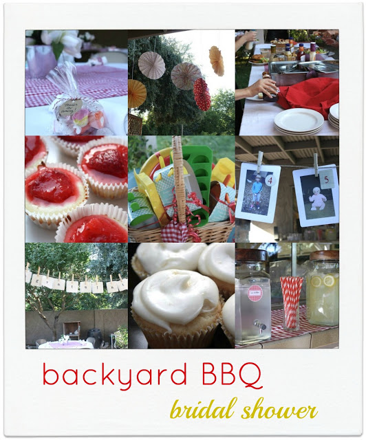 backyard BBQ bridal shower