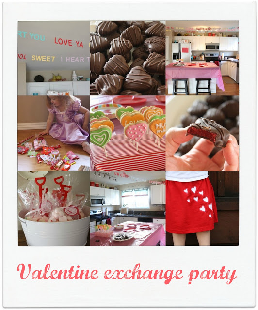 conversation heart valentine party ideas