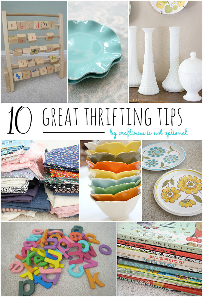 10 great thrifting tips!