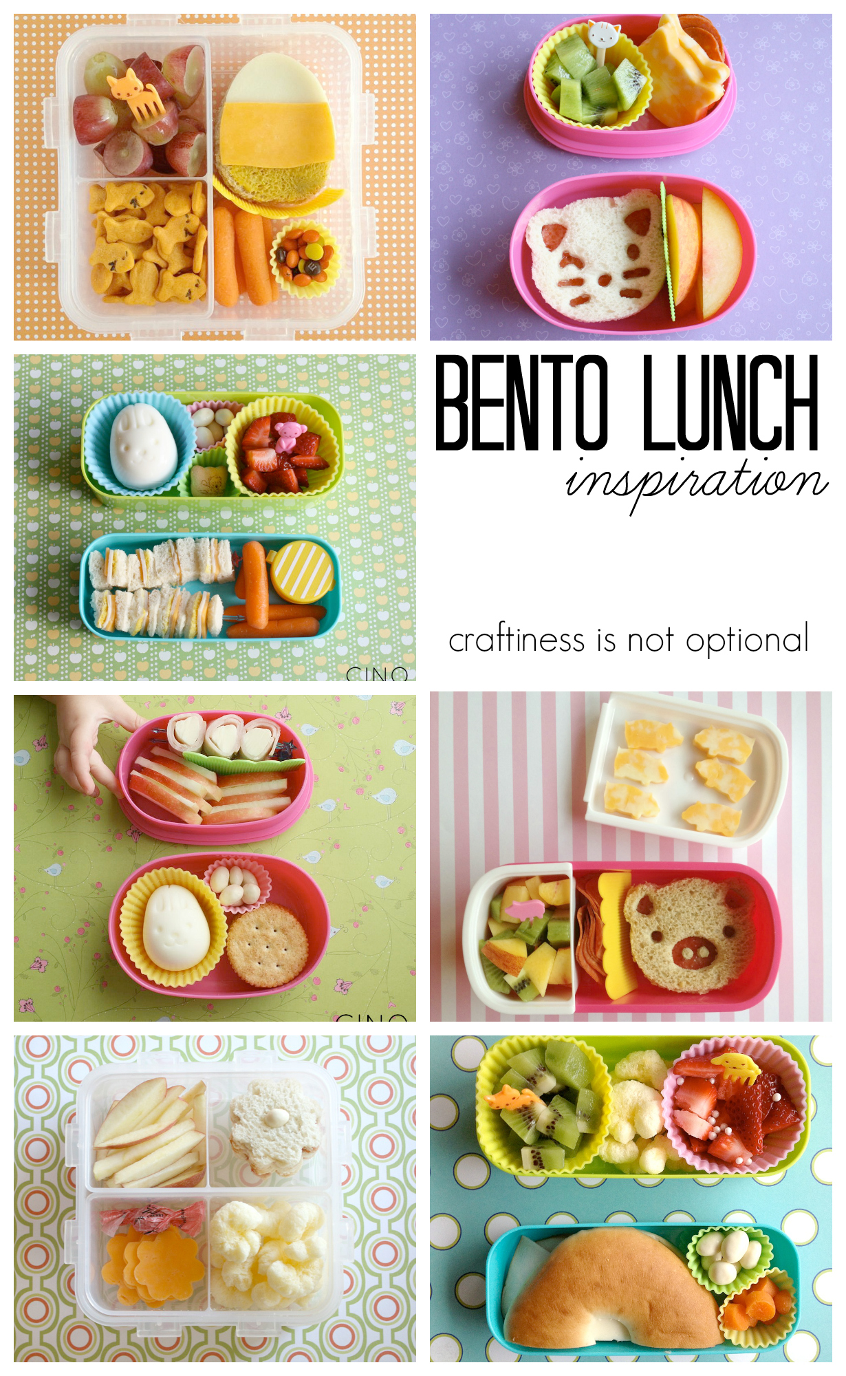 bento lunch inspiration!