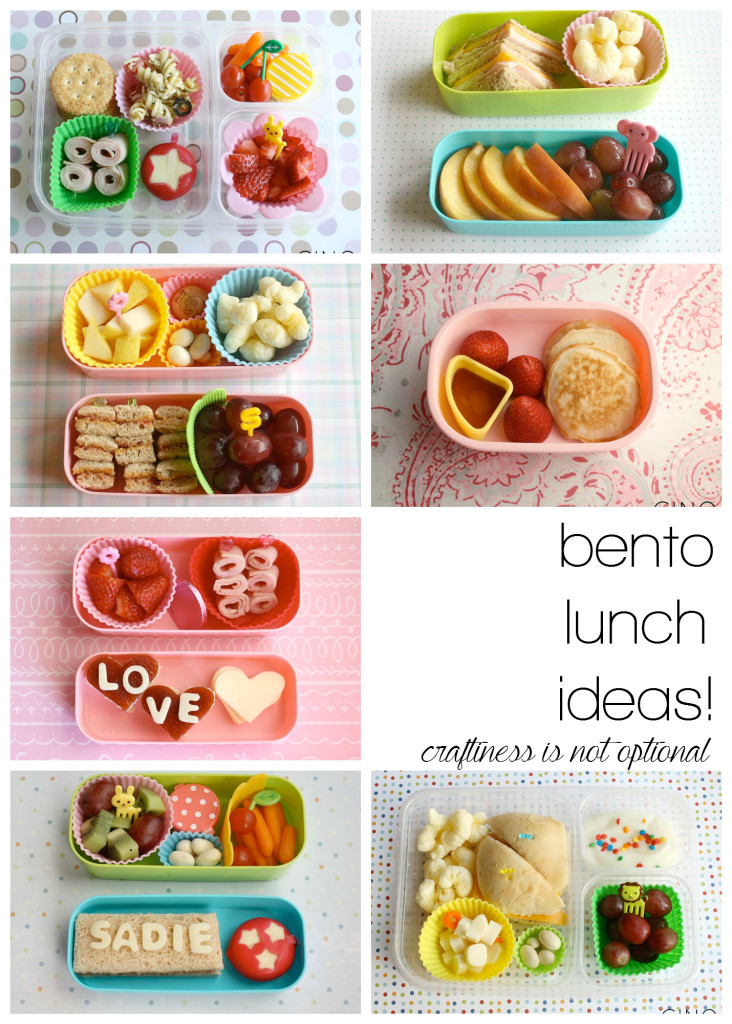 more bento lunch ideas!