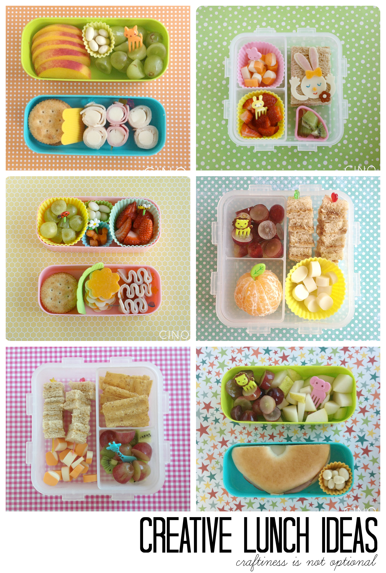 fun lunch ideas at craftiness is not optional
