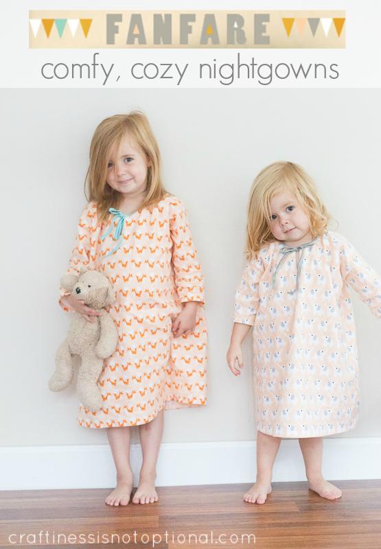 flannel fanfare nightgowns