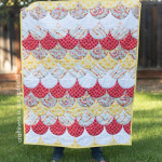 scallop quilt craftiness is not optional