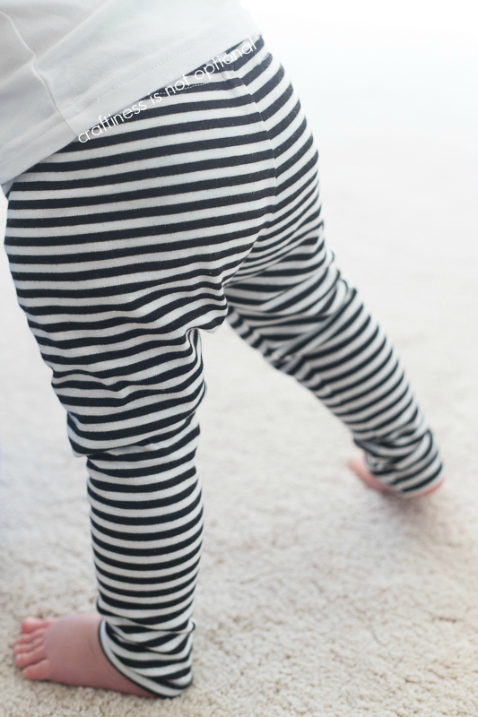striped go to leggings by craftiness is not optional