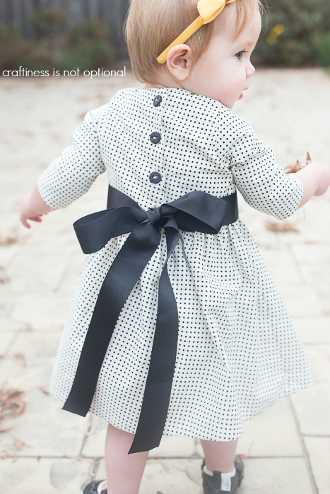 5 and 10 designs polka dot dress with sleeves  craftiness is not optional
