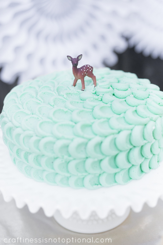 Little Deer First Birthday Party