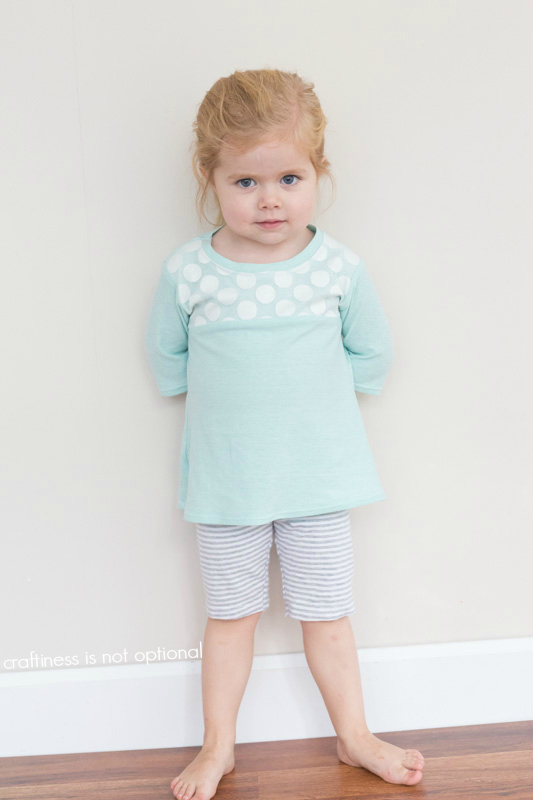 lace nessie top by craftiness is not optional