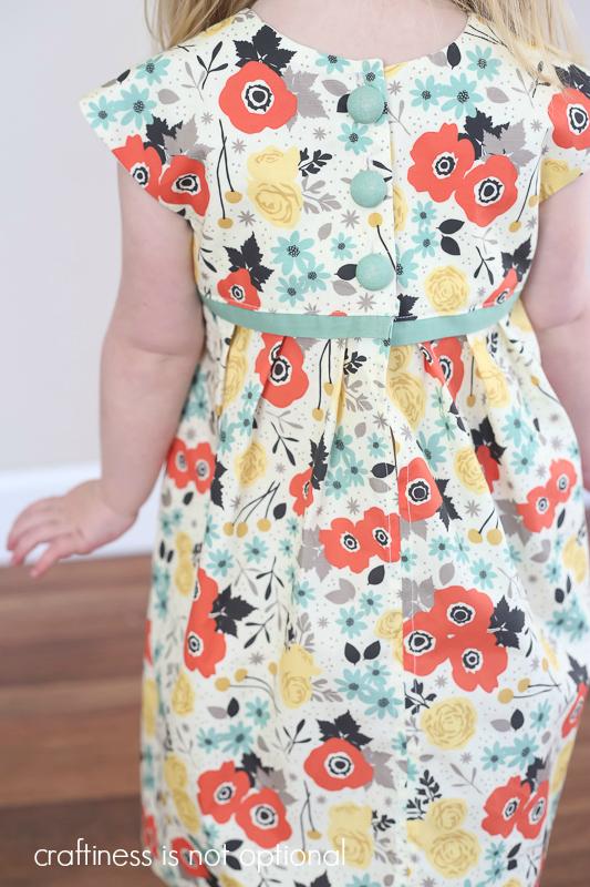 imodern yardage geranium dress  craftiness is not optional
