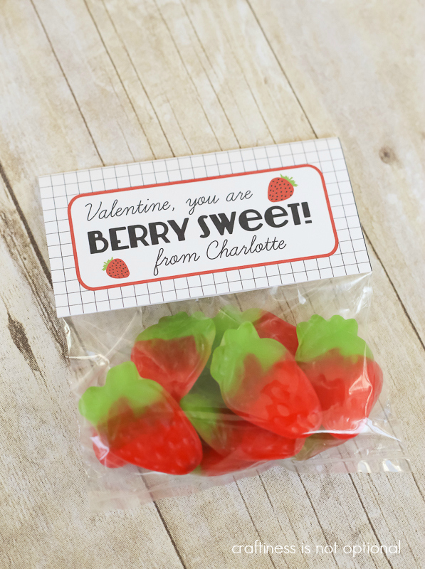 """berry sweet"" Valentine FREE printable!"
