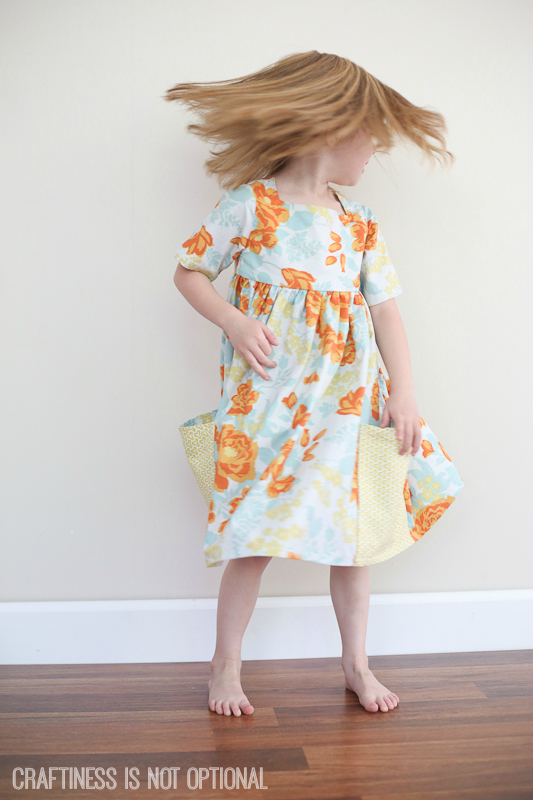 floral sally dress