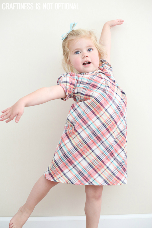 plaid lizzy dress