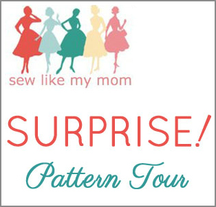 Surprise pattern tour for Sew Like My Mom!