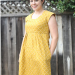 mustard washi dress \\ craftiness is not optional
