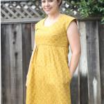 mustard washi dress \\ craftiness is not optional