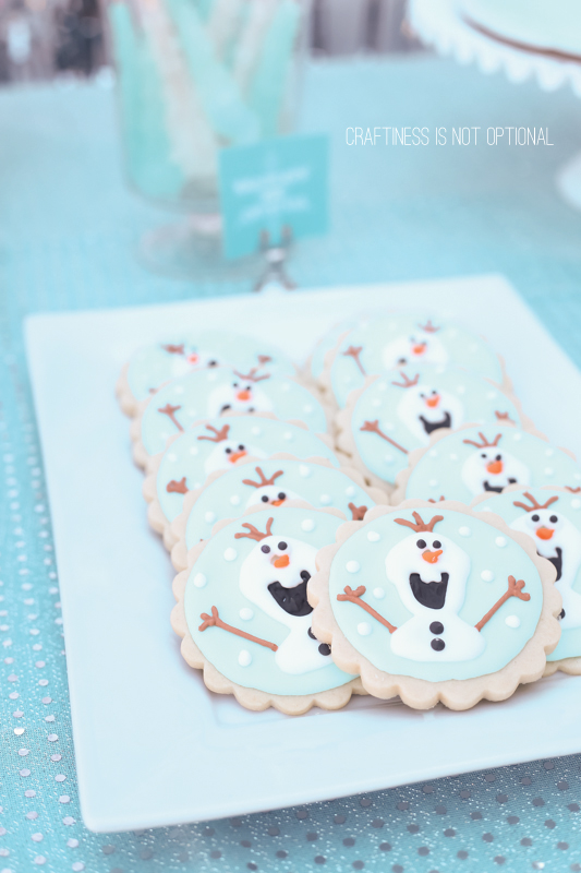 frozen party \\ craftiness is not optional