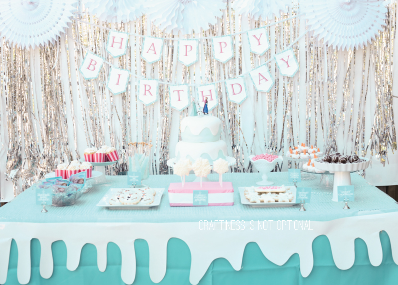 frozen birthday party. Black Bedroom Furniture Sets. Home Design Ideas