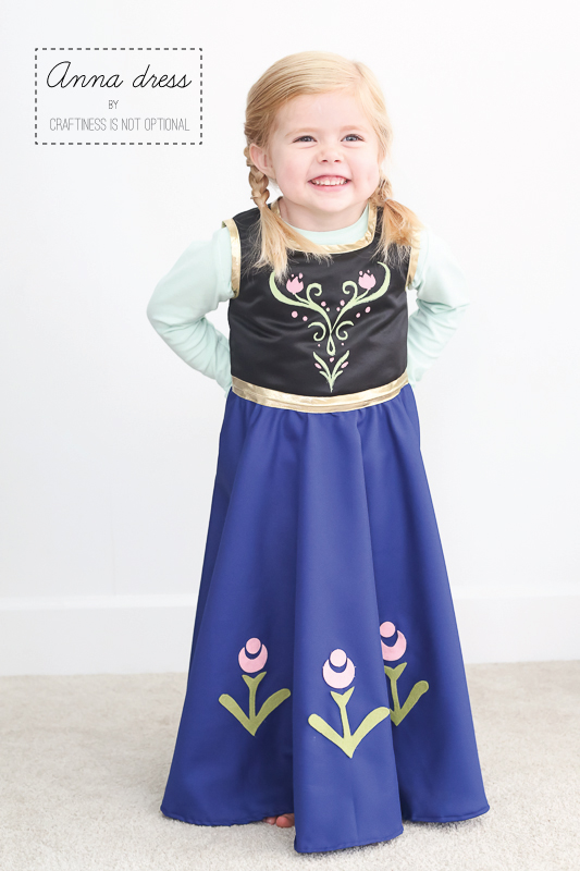 anna from frozen halloween costume