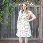 floral staple dress
