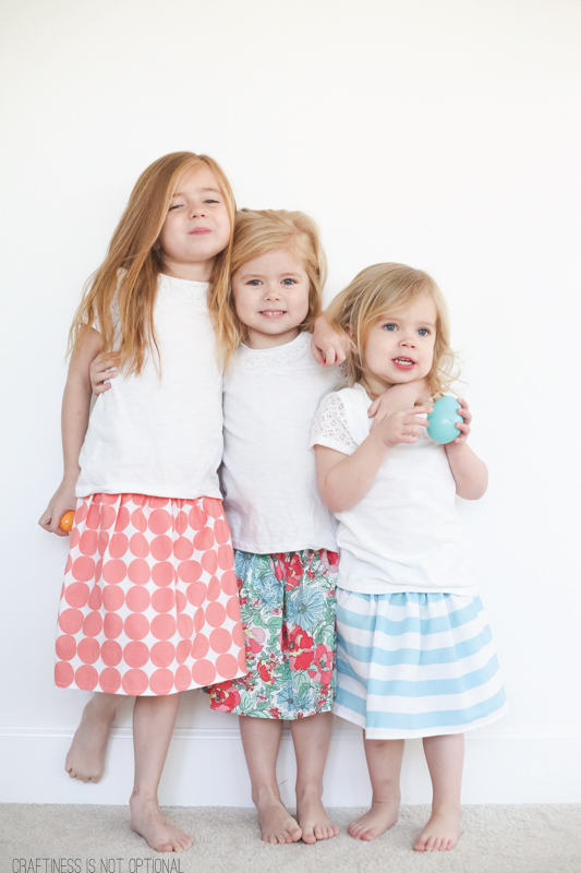 easy Easter skirts