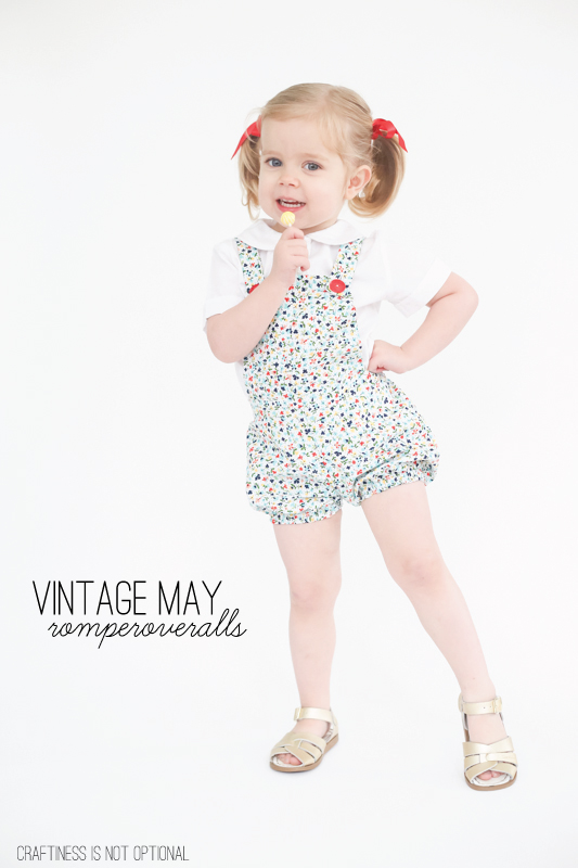 vintage may: romperoveralls