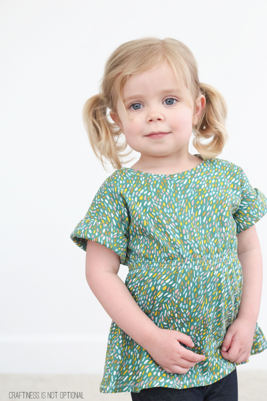 scrunch top free pattern and tutorial for birch fabrics
