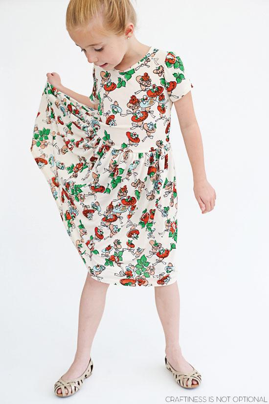 vintage floral kensington dress