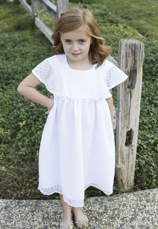 sadies baptism dress