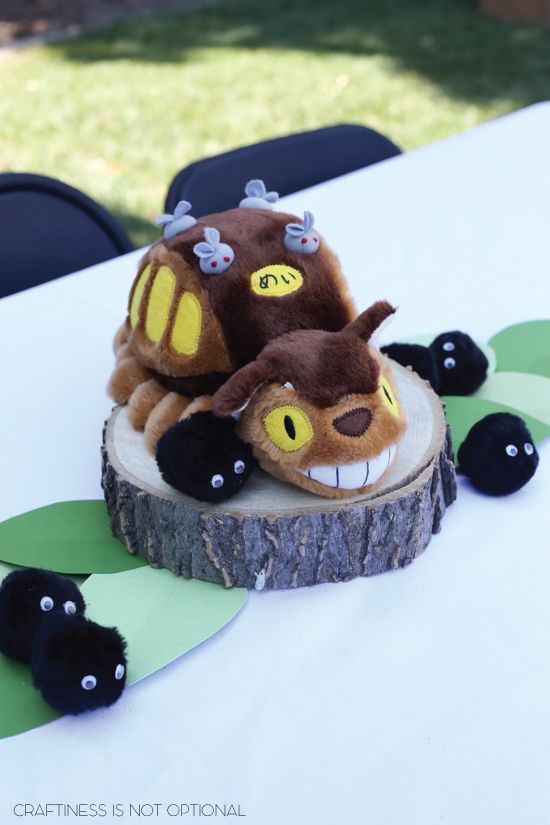 Sadie's My Neighbor Totoro birthday party