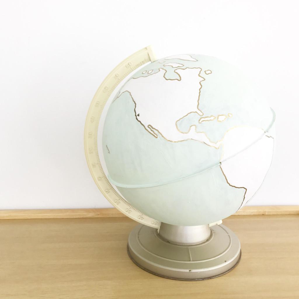 easy globe makeover