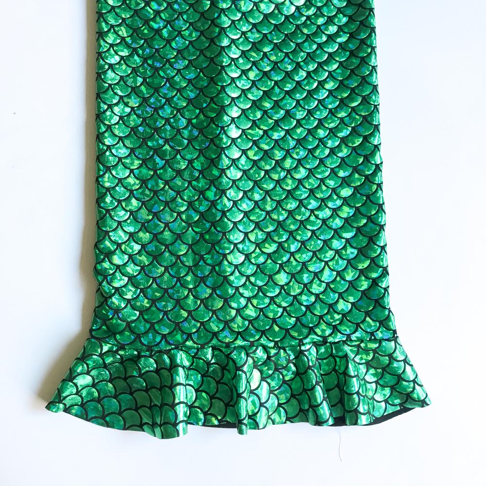 mermaid skirt tutorial
