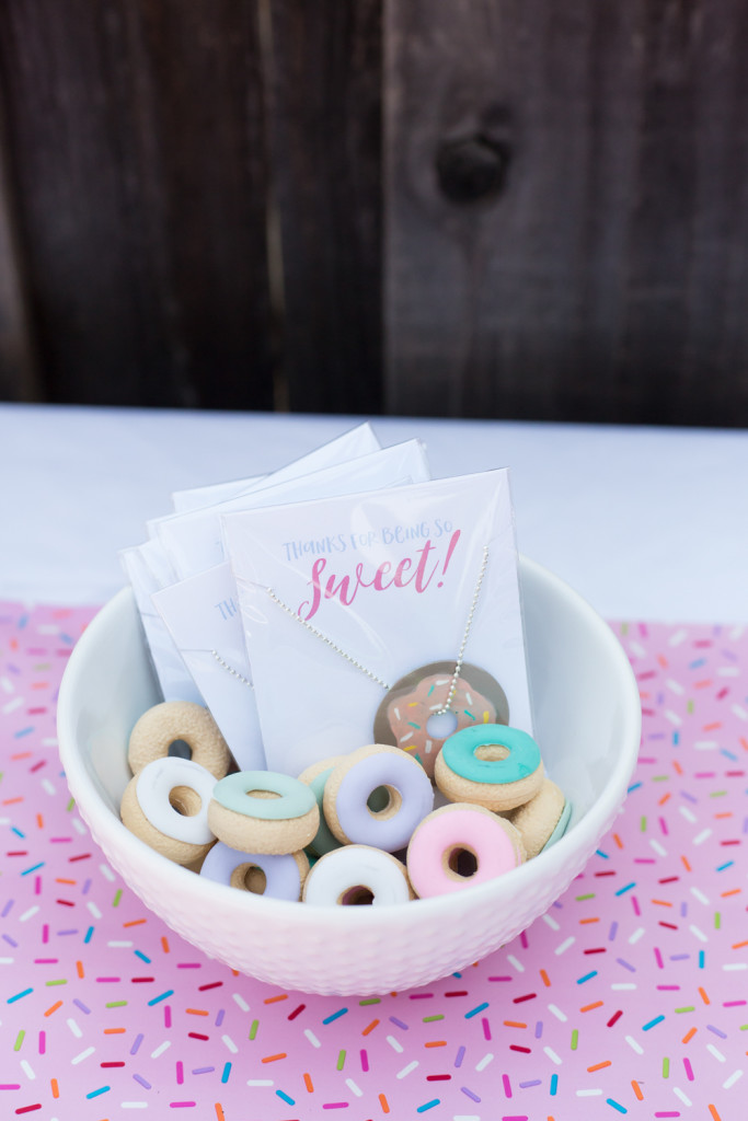 easy and cute donut party