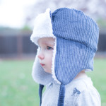 YOTB dusty blue lumberjack hat