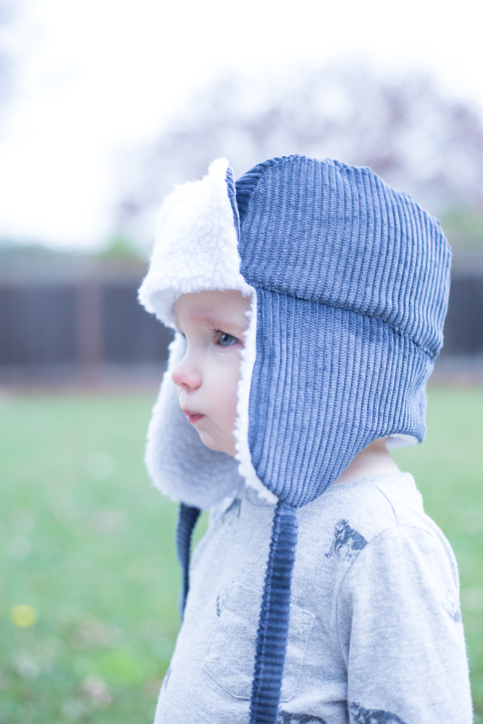 YOTB dusty blue lumberjack hat